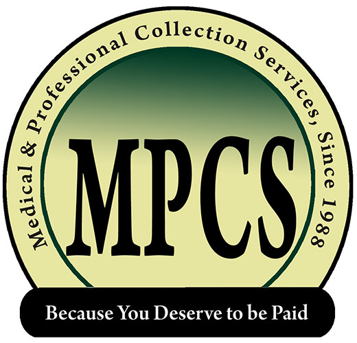 Medical and Professional Collection Services Because you deserve to be paid logo